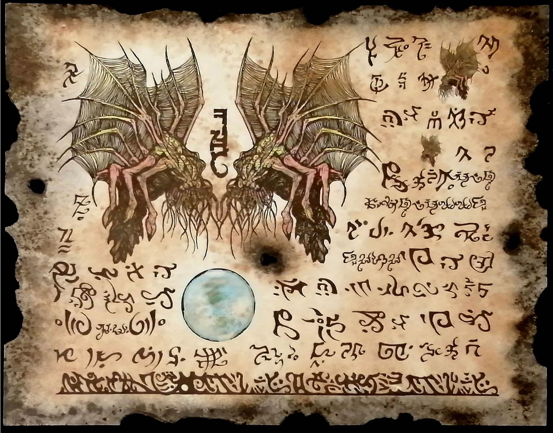 Necronomicon Fragment 009