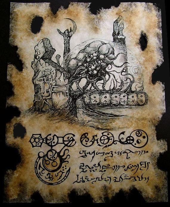 Necronomicon Fragment 034