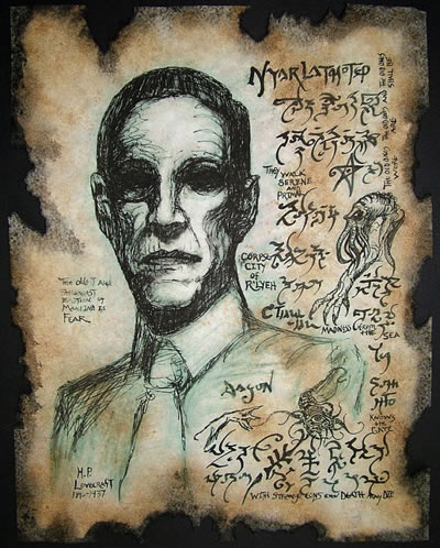 Necronomicon Fragment 043 - H.P. Lovecraft