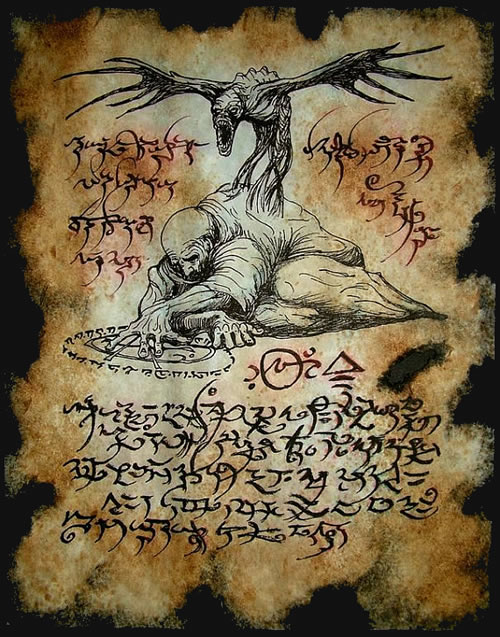 Necronomicon Fragment 078