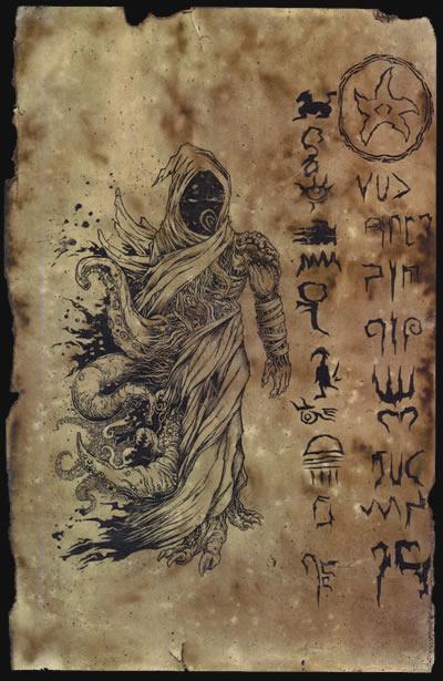 Unaussprechliches Dokument 005 - Nyarlathotep (Maske 1)