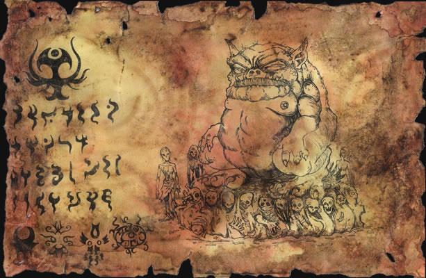 Unaussprechliches Dokument 003 - Anbetung von Tsathoggua