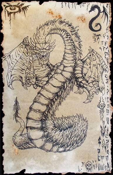Unaussprechliches Dokument 006 - Yig, Vater der Schlangen