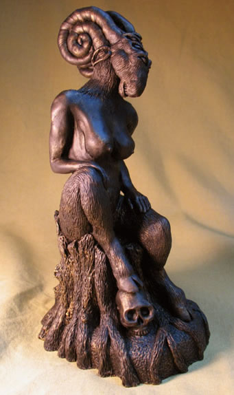 Shub Niggurath Statuette (Replikat von Joseph Broers) - Äußerer Gott aus dem Cthulhu Mythos