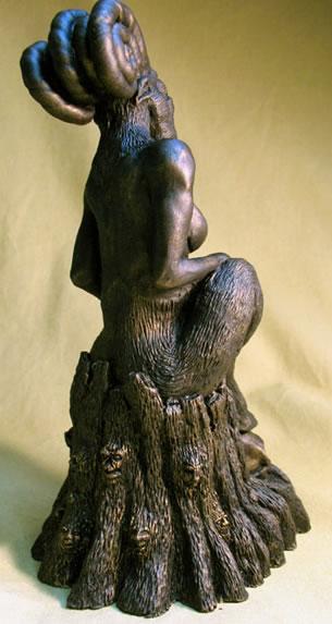 Statuette Shub Niggurath aus dem Cthulhu Mythos - Ansicht 2