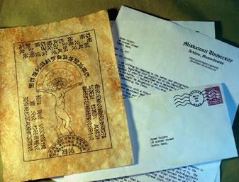 Dokumente zur Shub Niggurath Statuette