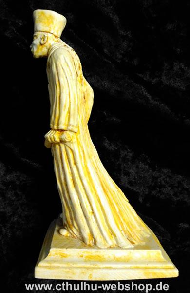 Zauberer Eibon (Statuette - knochenfarbend) - Ansicht 2
