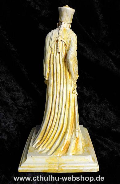Zauberer Eibon (Statuette - knochenfarbend) - Ansicht 3