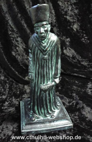 Zauberer Eibon (Statuette - steinfarbend) - Ansicht 1