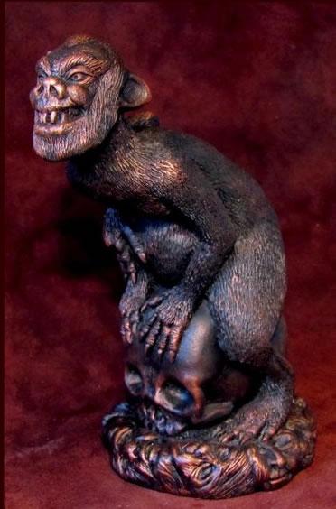 Brown Jenkin (Statuette) - Figur aus H.P. Lovecrafts Erzählung: Träume im Hexenhaus