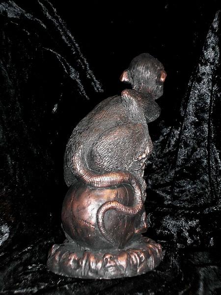 Statuette Brown Jenkin aus dem Cthulhu Mythos - Ansicht 3