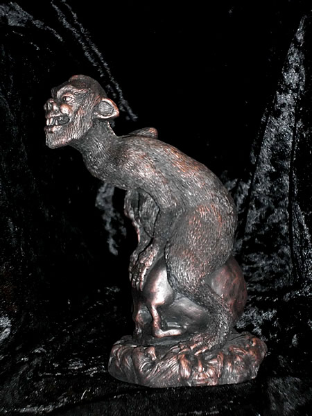 Statuette Brown Jenkin aus dem Cthulhu Mythos - Ansicht 5