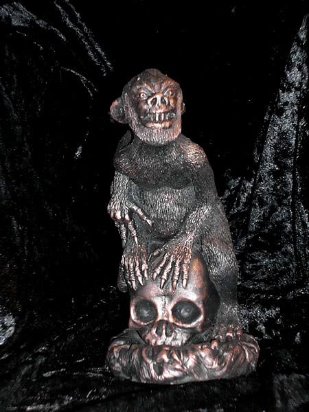 Statuette Brown Jenkin aus dem Cthulhu Mythos - Ansicht 6