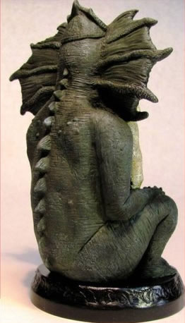 Statuette Chaugnar Faugn aus dem Cthulhu Mythos - Ansicht 1