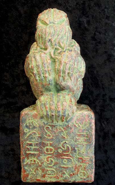 Cthulhu Idol der Sumpfkultisten (Statuette) - Einer der Großen Alten aus H.P. Lovecrafts Erzählungen