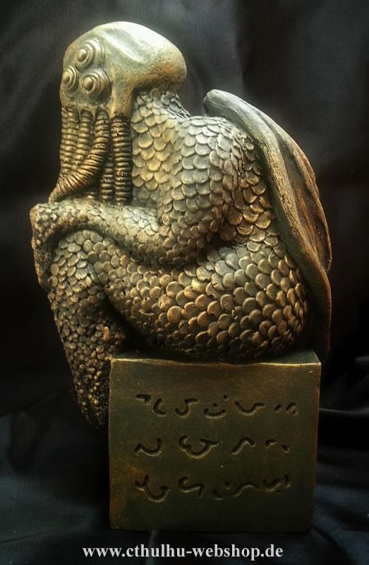 Cthulhu Statuette  nach H.P. Lovecrafts Handzeichnung - Ansicht 1
