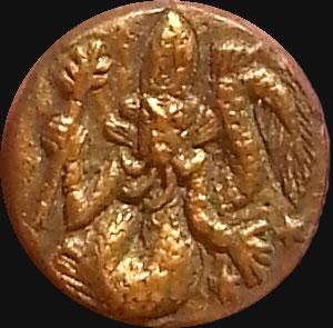 Dagon (Relief-Scheibe aus Resin) - Kult-Objekt 35mm