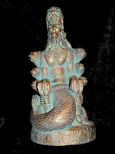 Statuette Dagon aus dem Cthulhu Mythos - Ansicht 6