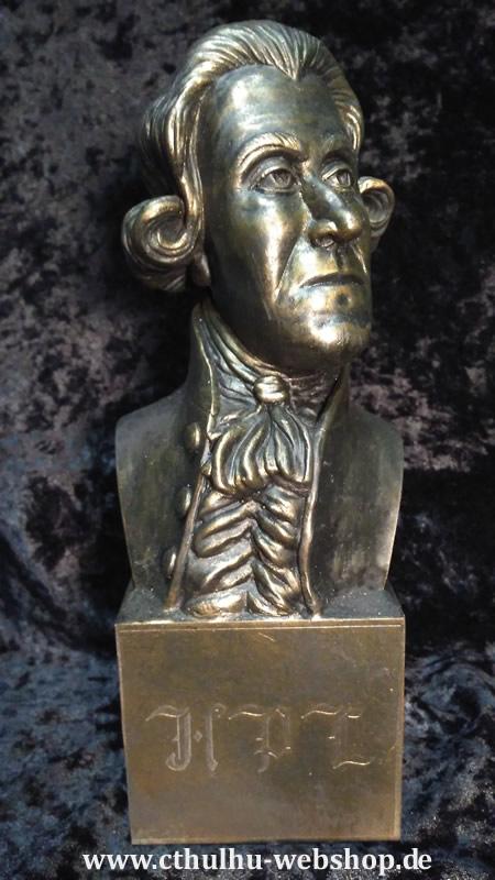 Büste H.P. Lovecraft nach Virgil Finlay - Ansicht 1