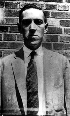 Foto von H.P. Lovecraft in Brooklyn 1931