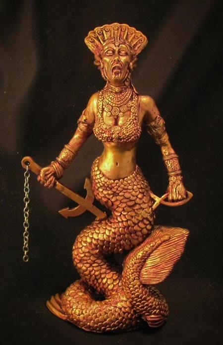 Mutter Hydra (Statuette) - Idol aus dem Cthulhu Mythos