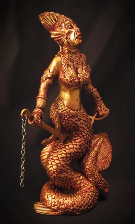 Statuette Yig aus dem Cthulhu Mythos - Ansicht 3