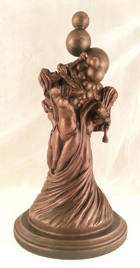 Die Flöten des Azathoth (Statuette)