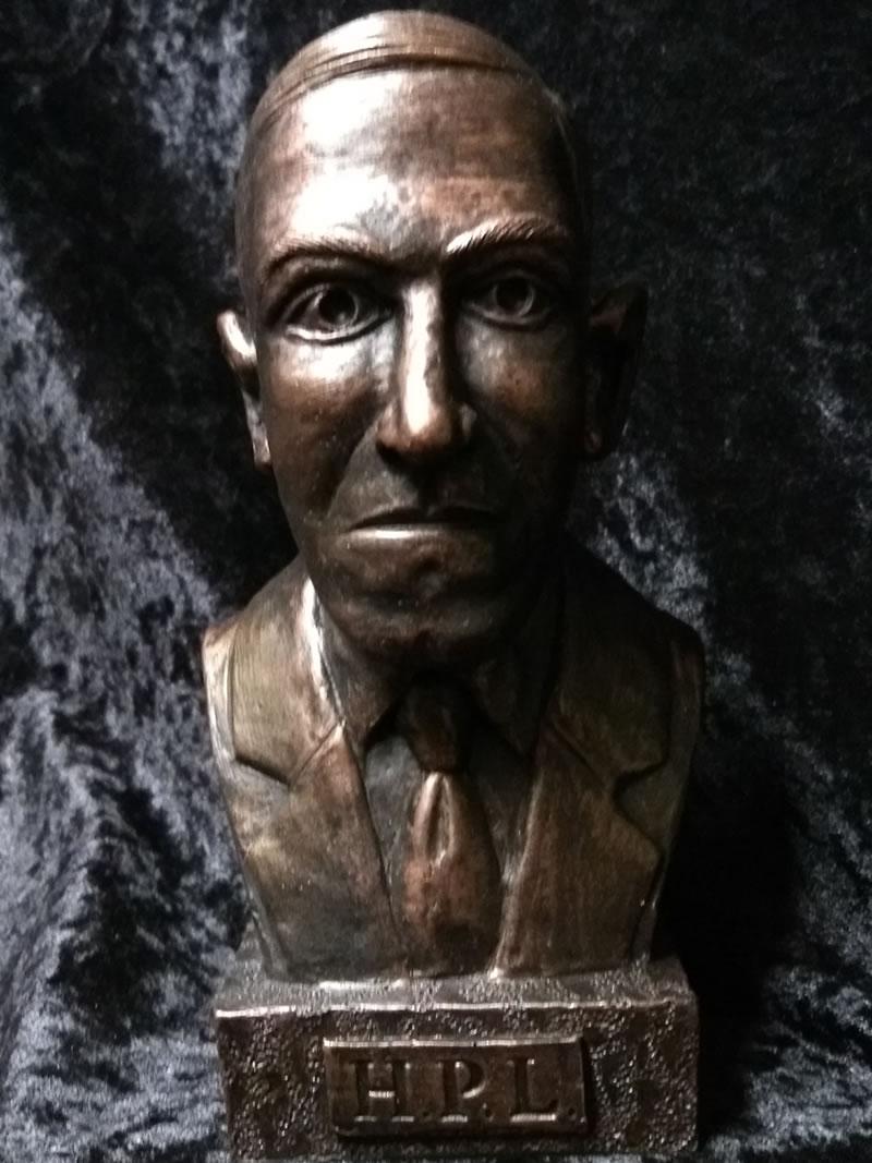 Büste H.P. Lovecraft - Ansicht 1