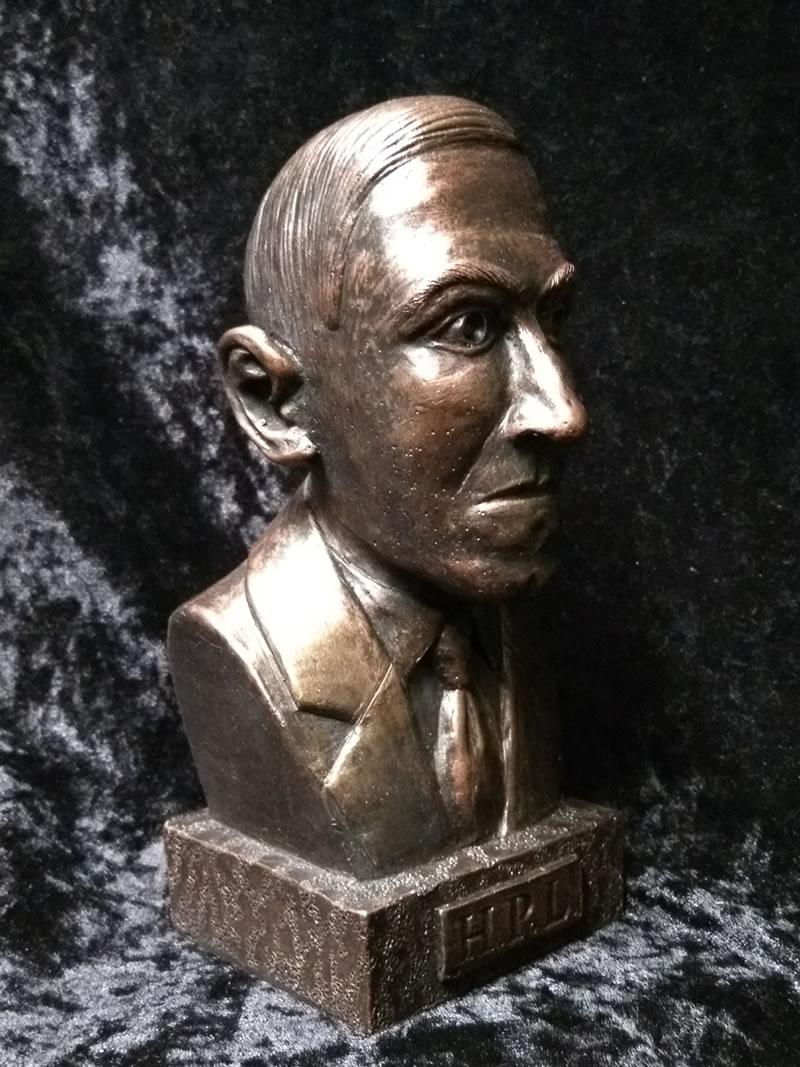 Büste H.P. Lovecraft - Ansicht 2