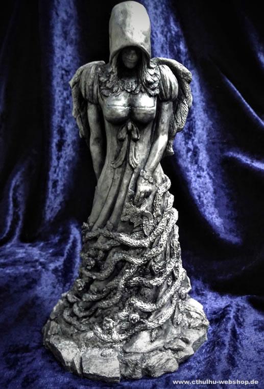 Die Königin in Gelb - silber Variante (Statuette) - Die Gefährtin vom König in Gelb