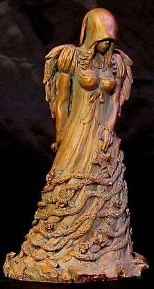 Die Königin in Gelb (Statuette) - Die Gefährtin vom König in Gelb