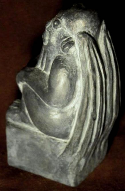 Hingabe an Cthulhu Statuette - Ansicht 2
