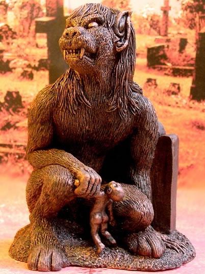 Pickman's Model (Statuette) - Figur aus der Gleichnamigen Erzählung H.P. Lovecrafts.