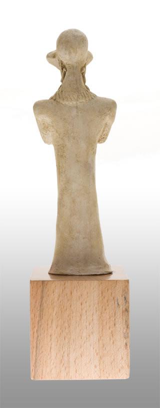 Ägyptische Cthulhu Statuette (Replikat) - Größenvergleich