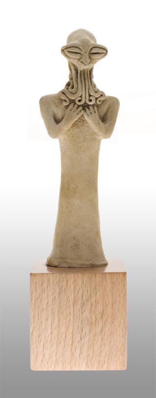 Syro-Hittite Cthulhu Statuette (Replikat)