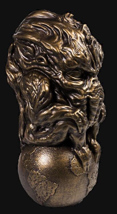 Cthulhu Sphere Idol (Bronze)