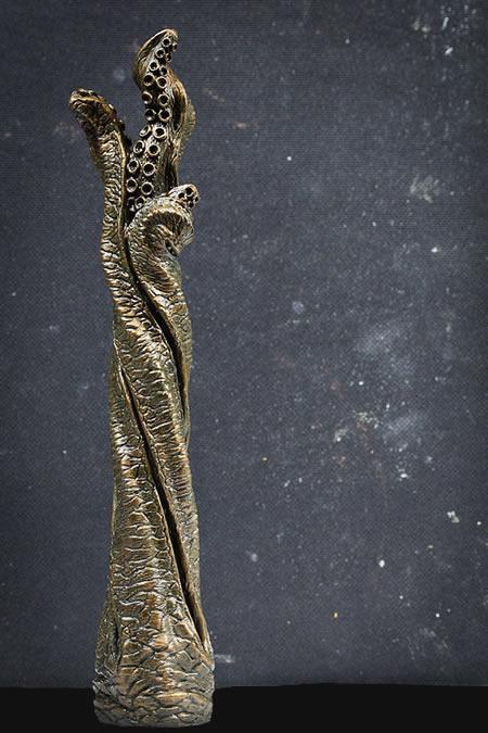 Tentakel-Wandhalter (Bronze) für Klopapierrollen, Kopfhörer, Schmuck u.a.