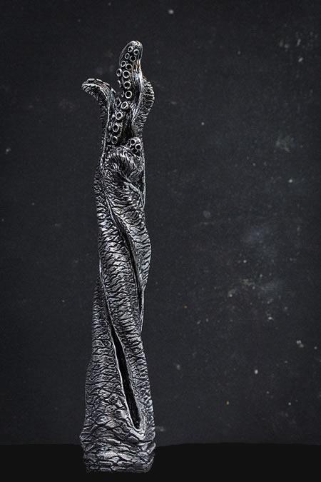 Tentakel-Wandhalter (Silber) für Klopapierrollen, Kopfhörer, Schmuck u.a.