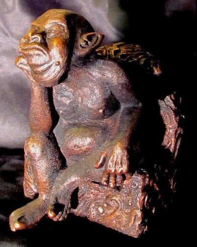 Tsathoggua (Statuette) - Großer Alter aus dem Cthulhu Mythos
