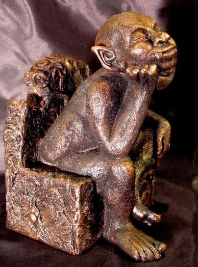 Statuette Tsathoggua aus dem Cthulhu Mythos - Ansicht 1