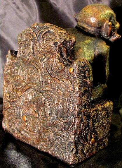 Statuette Tsathoggua aus dem Cthulhu Mythos - Ansicht 3