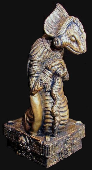 Statuette Yig aus dem Cthulhu Mythos - Ansicht 1