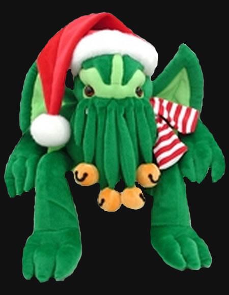 Santa Chtulhu Plüsch - Namenloses Grauen zu Weihnachten