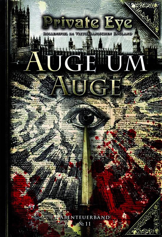 Private Eye - Abenteuerband 11: Auge um Auge (deutsch)