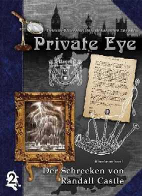 Private Eye - Abenteuerband 2: Der Schrecken von Randall Castle (deutsch)