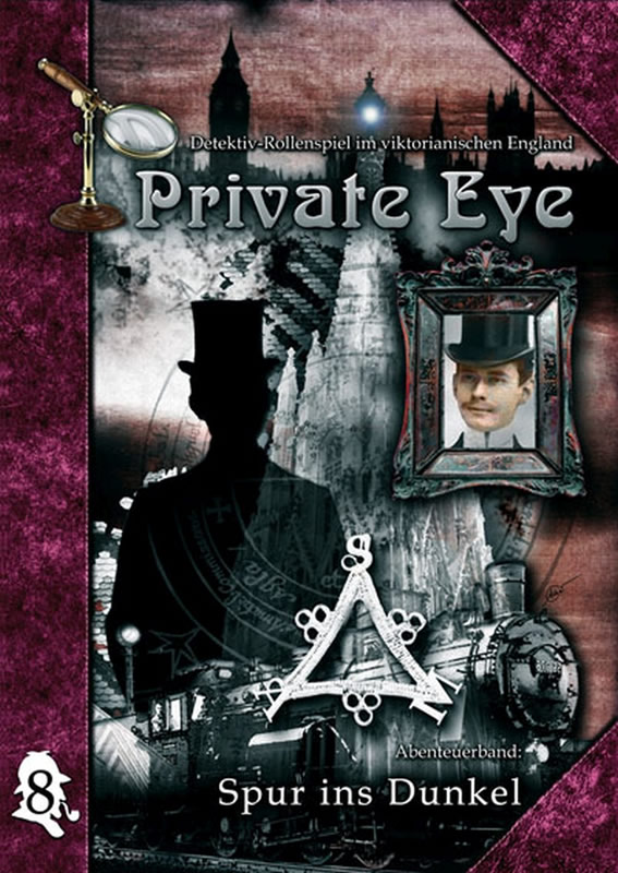 Private Eye - Abenteuerband 8: Spur ins Dunkel (deutsch)