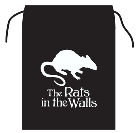 The Rats in the Walls - dice bag
