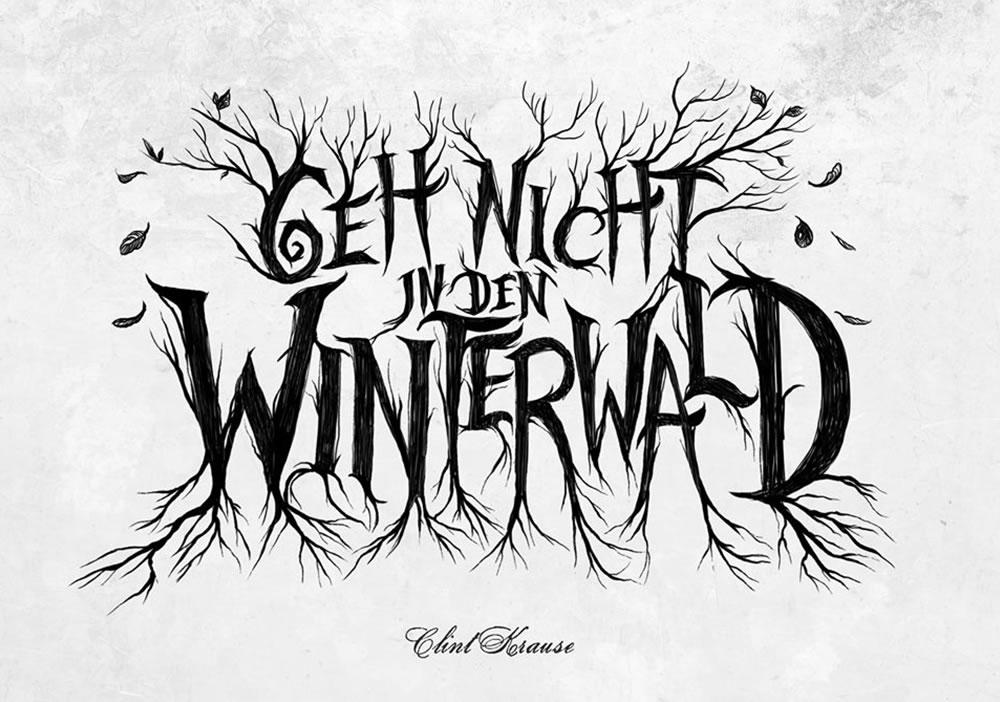 Geh nicht in den Winterwald - Erzählspiel