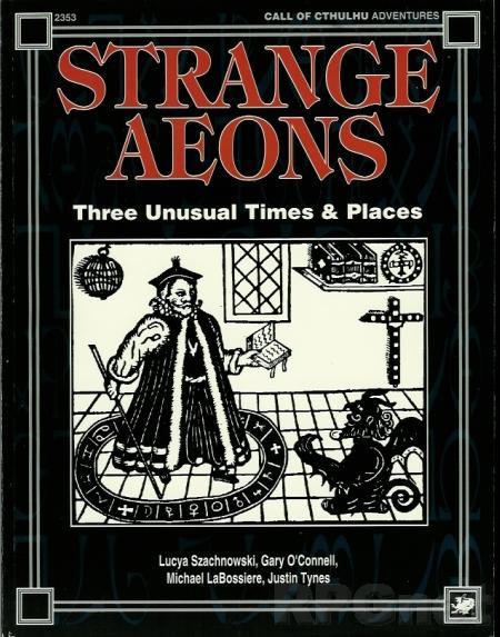 Strange Aeons - NEUWERTIG - OUT OF PRINT - einzelnes Sammlerstück