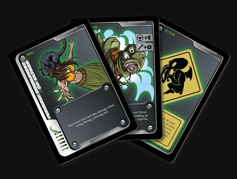 Fast & Fhtagn Spielkarten